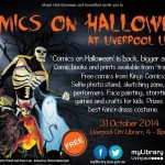 Comics at Halloween Liverpool